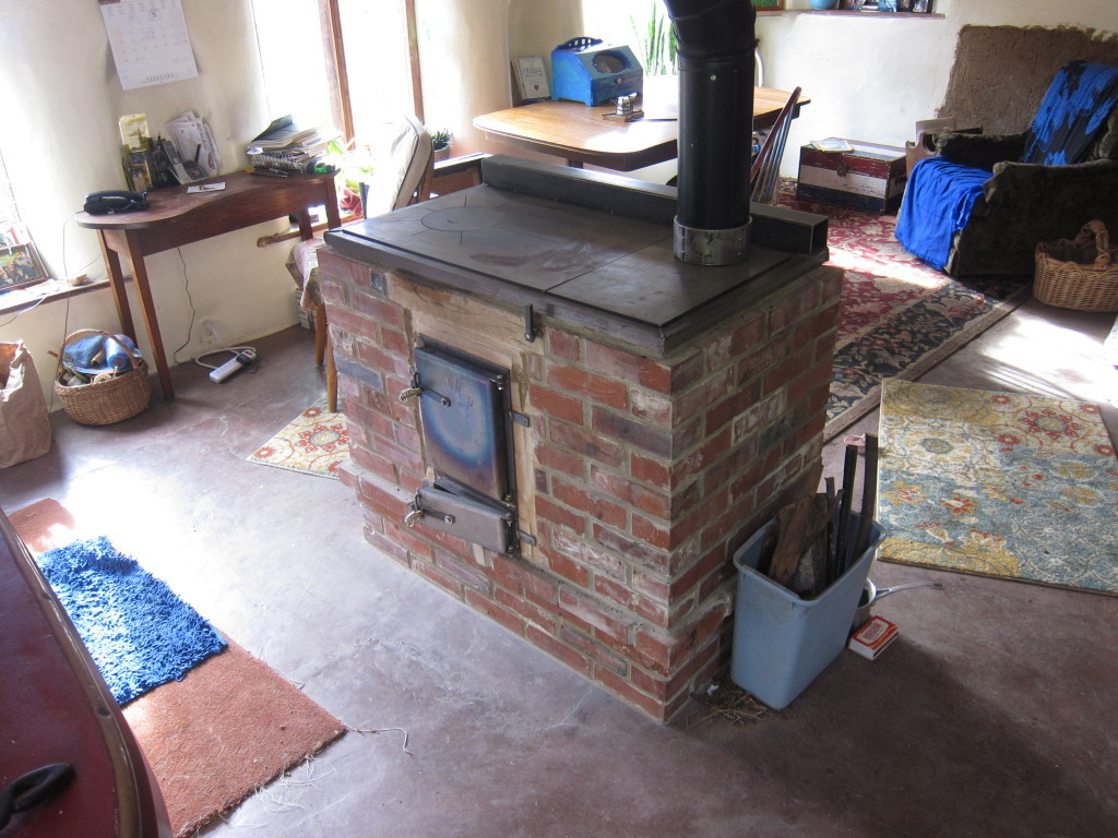 The Harlan Cabin Stove Firespeaking